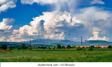 A Storm over the valley