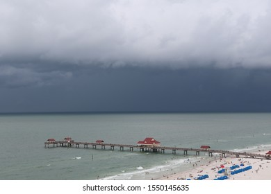 Storm rolling in to Clearwater Beach, FL