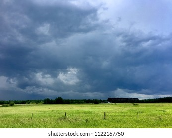 Storm Rolling Through the Fields 2