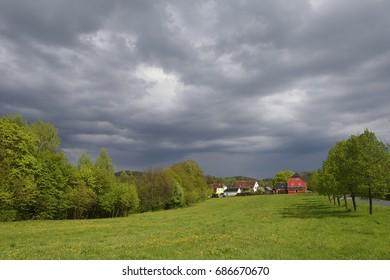 Stormy atmosphere