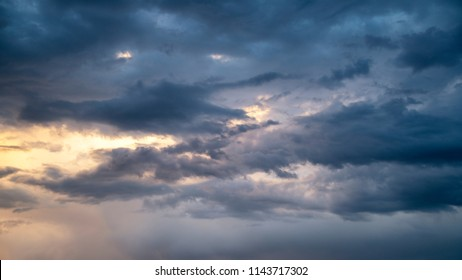 Stormy Colorado sky