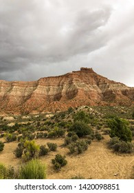 Stormy Skys from the Jem Trail outside of Zion National Park