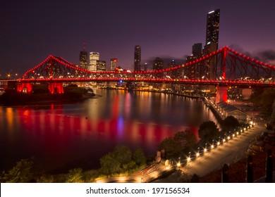 The Story Bridge, Brisbane, QLD.