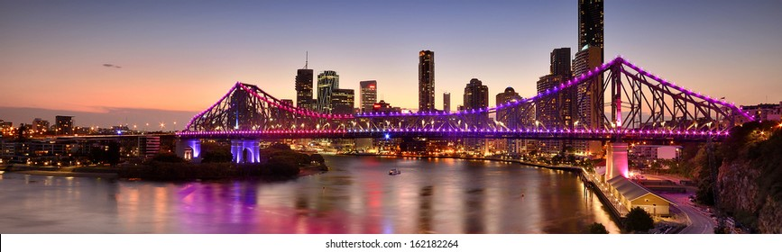 Story Bridge - Sunset