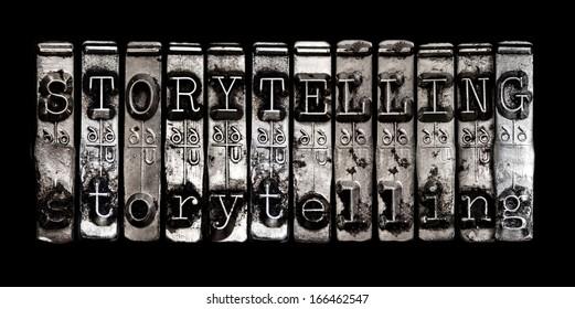 Storytelling concept