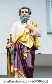 St.Paul the apostle statue