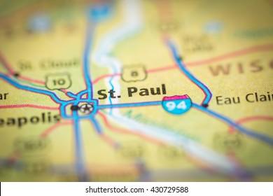 St.Paul. Minnesota. USA