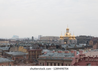 St.Peterburg. The view from the roof