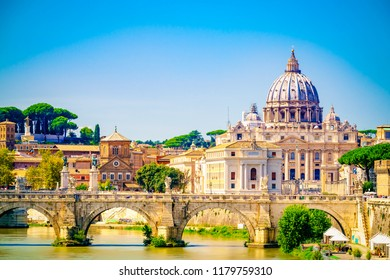 St.Peter's basilica in Vatican, Rome.Italy