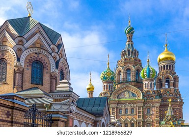St.Petersburg, Russia, the Churh of Resurrection (Savior Of Spilled Blod)