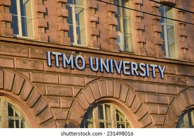 ST.PETERSBURG, RUSSIA, NOVEMBER 17, 2014 - ITMO University  (University of Information Technologies, Mechanics and Optics)  is a leading Russian technical university located in St. Petersburg, Russia