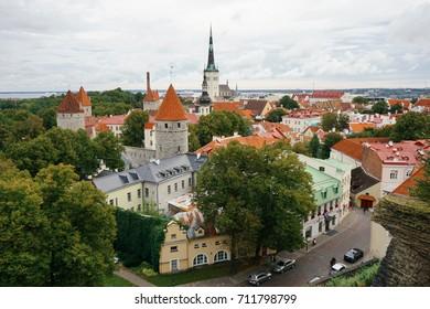 St.petersburg , Spetember 19, 2016 : Tallin downtown