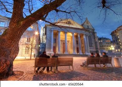 St-Pierre Cathedral in Geneva, Switzerland