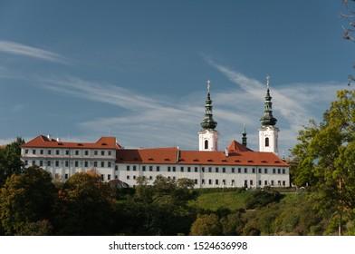 Strahov Monastery in Prague city