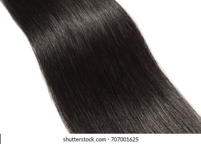 straight black human hair weave extensions