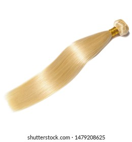 straight bleached blonde human hair weaves extensions bundles