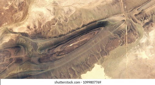 the straight line, abstract photography of the deserts of Africa from the air, aerial view, abstract expressionism, contemporary photographic art,