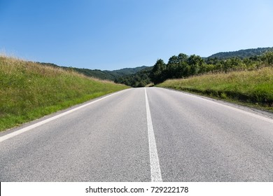 straight and wide road