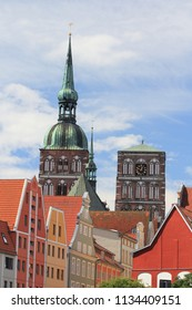Stralsund  is a Hanseatic town in the Pomeranian part of Mecklenburg-Vorpommern, Germany
