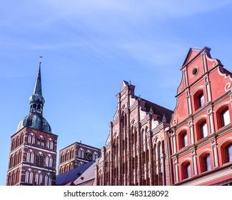 stralsund with Nikolai Church