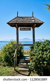 Am Strand von Villarrica.
