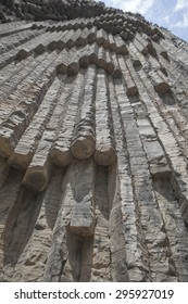 Strange rock in Armenia. Symphony of Stones
