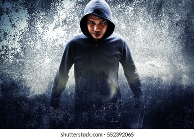 A stranger person or young fighter
