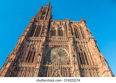 Strasbourg Cathedral in France