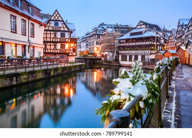 Strasbourg France Christmas Time.Strasbourg France Winter Images Stock Photos Vectors