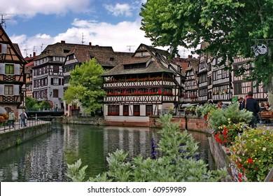 "Strasbourg -  the ward ""La Petite France"""