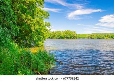Straszyn lake.