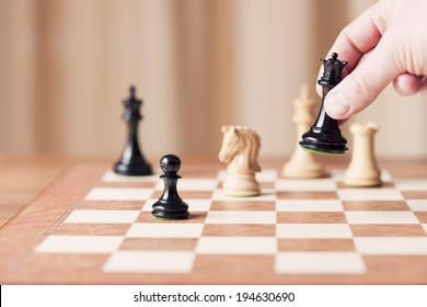 strategic moves, chess game
