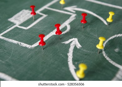 strategy for soccer game with coach