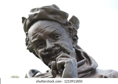 Stratford-upon-Avon. Oct 2018 - The Shakespeare Memorial Statues by Lord Ronald Gower