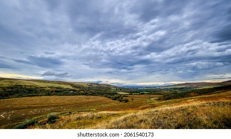 Strath Naver in the Highlands of Scotland
