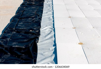 stratigraphy of the materials to waterproof a terrace in a new building with the following products: