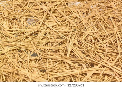 Straw for background