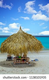 Straw Hut in Paradise