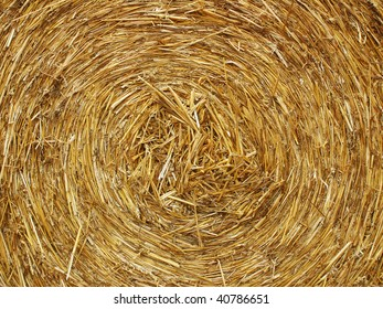 straw roll, detail