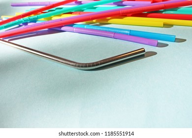 straw straws metal reusable plastic free replacement drinking background colourful  full screen stock, photo, photograph, image, picture,