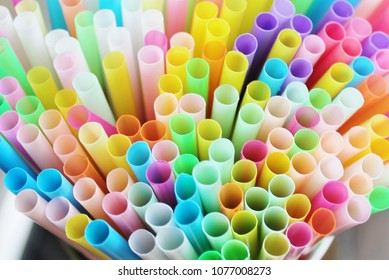 straw straws plastic drinking background colourful