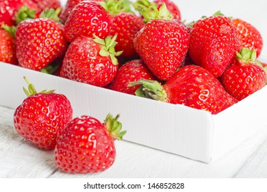 Strawberries - Box of hand picked strawberries. Delicious summer treat!