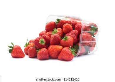 Strawberries and punnet