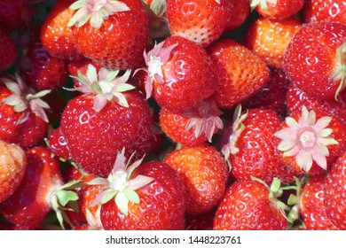 strawberry background red organic fruits natural sugar dessert