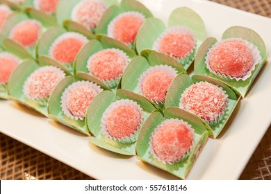 Strawberry candies