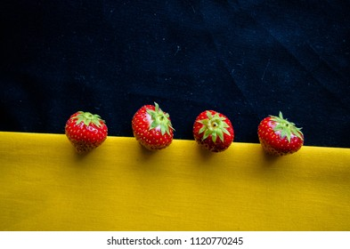 Strawberry as the center of the world