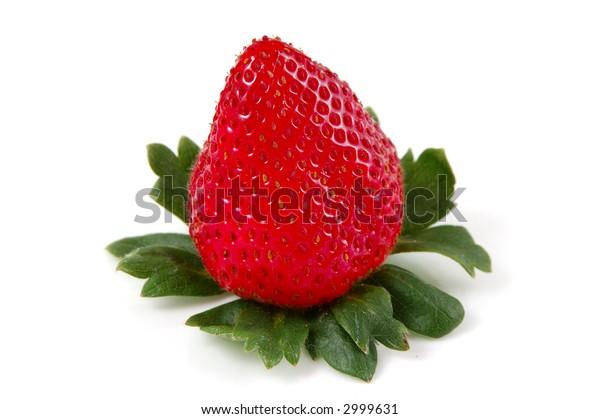 Strawberry cut in half (Series)