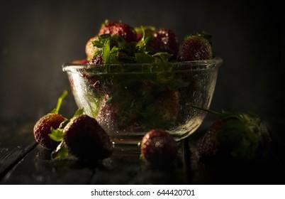 Strawberry. Fresh strawberry. Red strawberry. Strawberry Juice