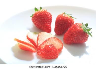 Strawberry Image Cut