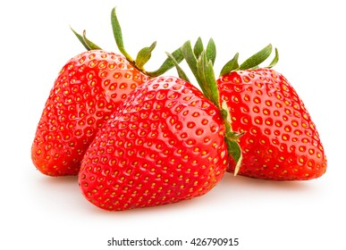 strawberry isolated